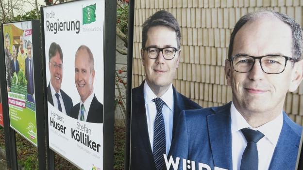 St. Gallen wählt die Regierung und das Parlament neu.