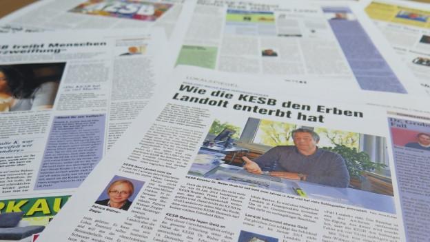 Die «Obersee Nachrichten» weisen die Vorwürfe zurück.