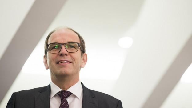 Folgt auf Martin Gehrer in die SG-Regierung: Bruno Damann