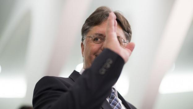 St.Galler SVP-Präsident Herbert Huser doch noch nicht abgewählt