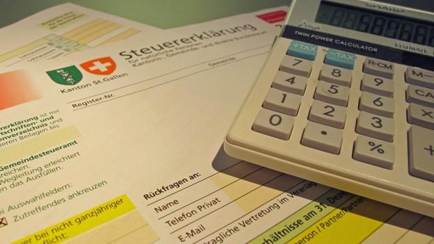 Steuersenkung bei St. Galler Gemeinden