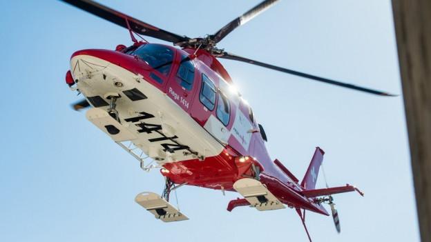 Die Rega fliegt künftig Notfälle aus Braunwald aus
