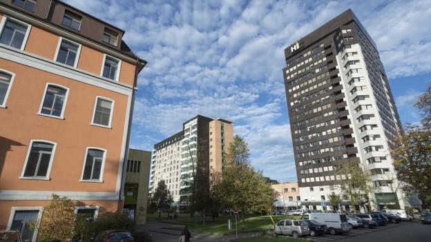 Dem Kantonsspital St. Gallen macht die Konkurrenz zu schaffen.