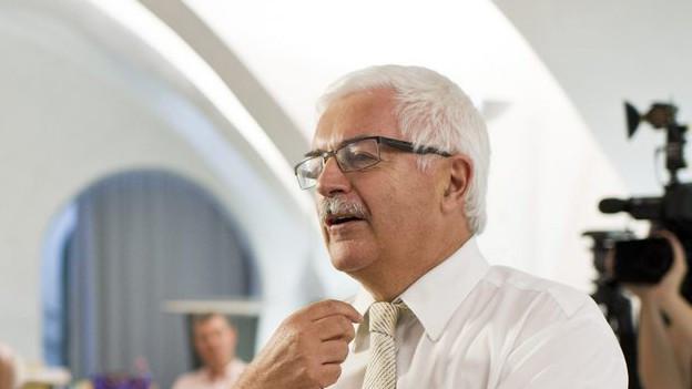 Über 30 Jahre lang war Roman Wüst Generalsekretär beim Kanton St. Gallen.