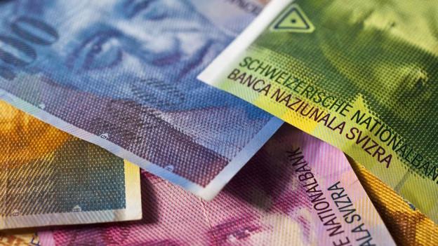 Bündel Banknoten
