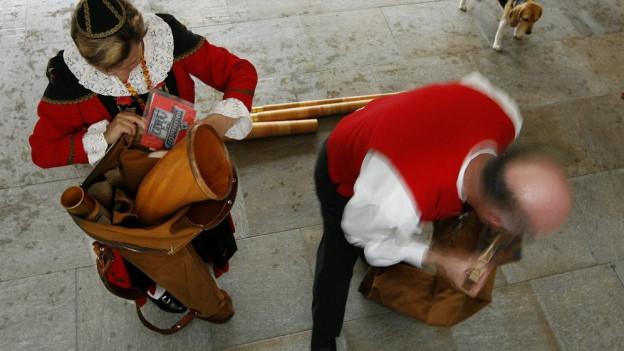 Schweizer Volksmusiker sind im Toggenburg nicht alleine.