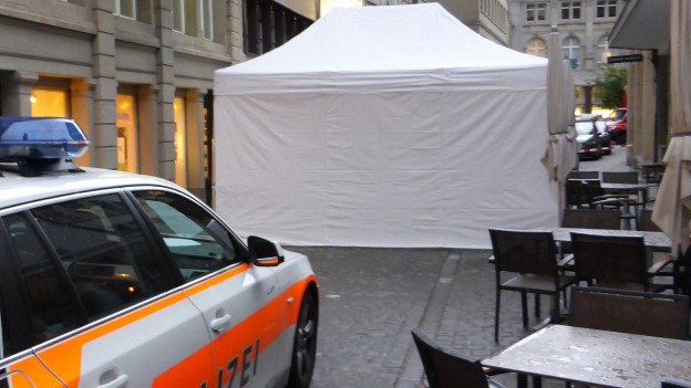 Tatort Innenstadt St. Gallen