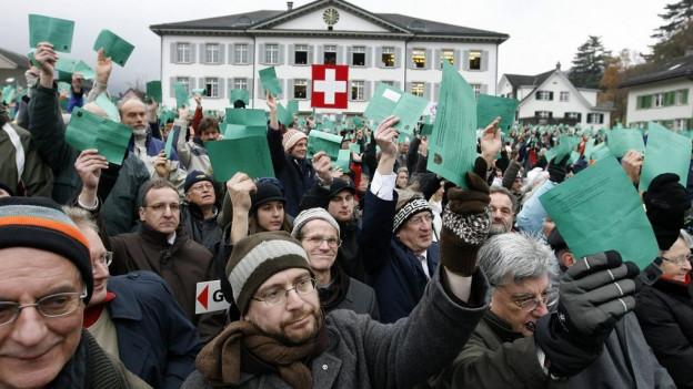 2007 stimmte eine ausserordentliche Landsgemeinde der Gemeindereform zu