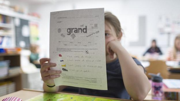 Intensiveres Training dank Halbklassen soll das Französisch in Primarschulen verbessern