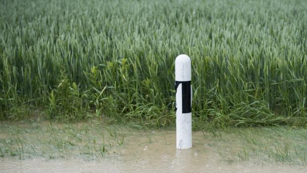Zum Teil hat der Regen zu Überschwemmungen geführt.