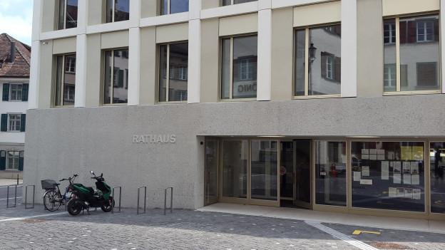 Die Verhandlung fand im Rathaus in Alstätten statt.