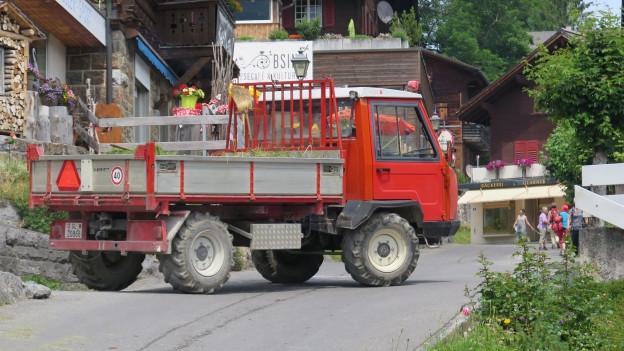 Motorenlärm in Braunwald