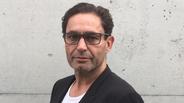 Der Architekt, Bildhauer und Philosoph Veit Rausch möchte Nachfolger von Thomas Scheitlin werden.