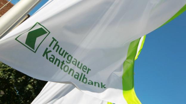 Fahne der Thurgauer Kantonalbank
