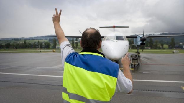 Mit der Aktion «Du machsch de Pris» wollte die Fluggesellschaft, dass Passagiere über einen fairen Preis nachdenken.