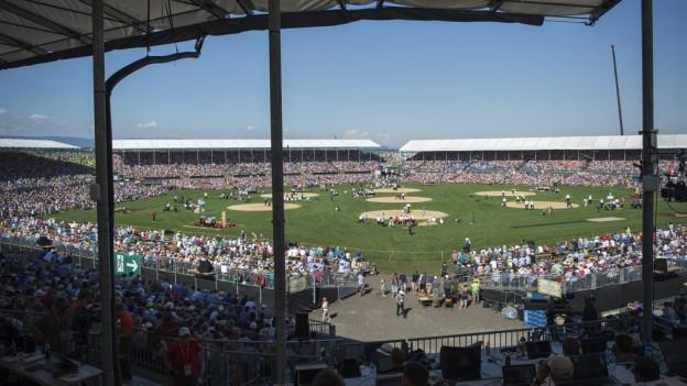 Die Arena in Estavayer