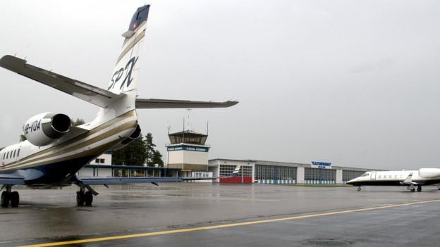 Der Flugplatz Altenrhein kann weiter ausgebaut werden.