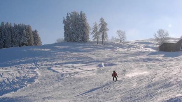 Die Skipiste in Trogen ist an zehn bis dreissig Tagen pro Jahr in Betrieb.