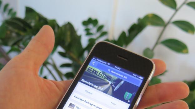 .Die Facebook-Gruppe Rennleitung ärgert die St. Galler Stadtpolizei.