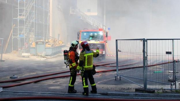 Explosion in Kehrichtverbrennungsanlage St. Gallen