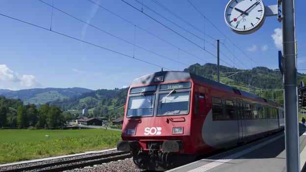 Zug der Südostbahn