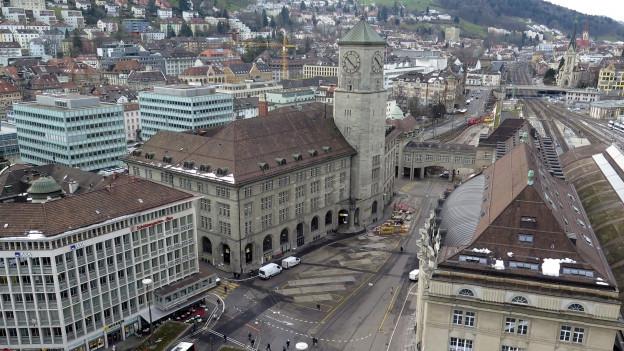 Die Fachhochschule St. Gallen zieht in die Hauptpost ein.