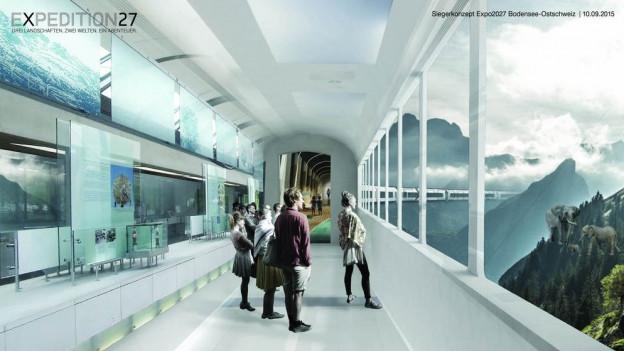 Grosse Visionen für eine Expo2027 in der Ostschweiz.