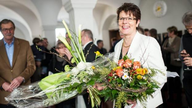 2013 wurde die Volkswirtschaftsdirektorin ins Landammannamt gewählt. Für zwei Jahre bekleidete sie dieses Amt.