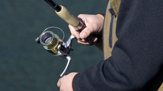Fischer am Fluss