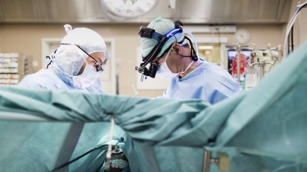In Heiden gibt es auch weiterhin chirurgische Eingriffe.