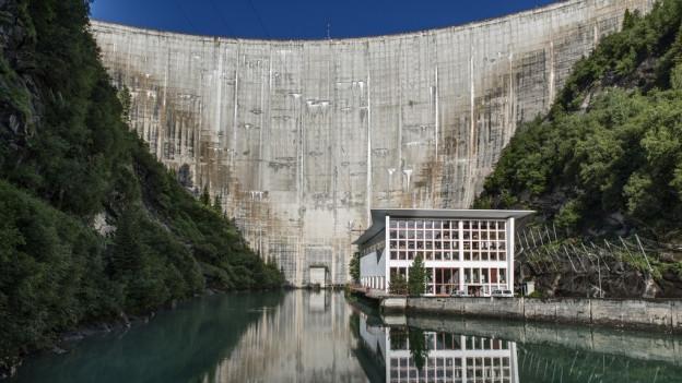 Trotz dem Nein des Bundesgerichts kämpft das Wasserkraftwerk Zervreila weiter für den Ausbau.