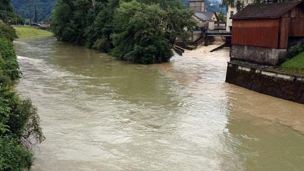 Zwei Drittel der Glarner leben in Siedlungen im Hochwassergebiet.