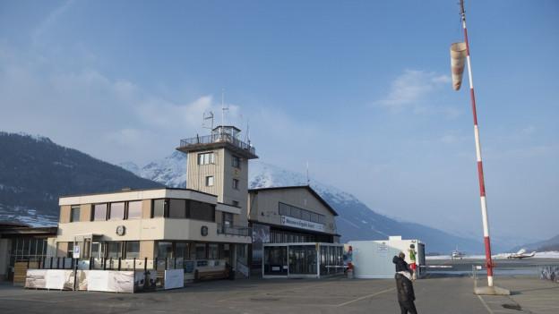 Flugplatz Samedan