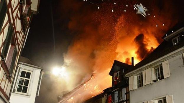 Ein Jahr nach dem Brand von Steckborn