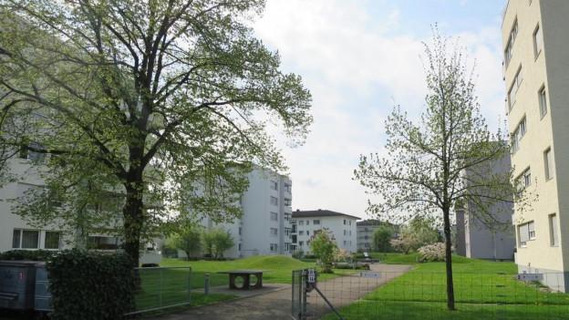 Das Lindenhof-Quartier in Wil