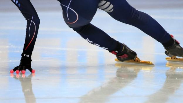 Wohin mit dem Eisschnelllauf? Eine der noch offenen Fragen rund um die Bündner Olympiakandidatur.
