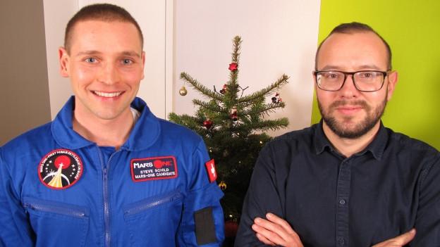 Der 32-Jährige Thurgauer Steve Schild will auf den Mars.