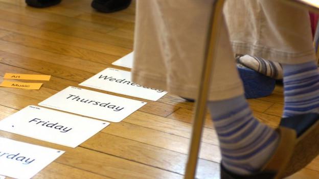 Im Schulzimmer: Soll nur noch eine Fremdsprache gelernt werden