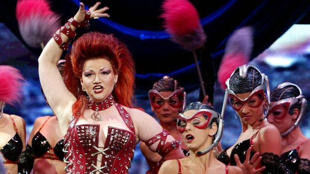 Musicalstar Brigitte Oelke stammt aus St. Gallen.