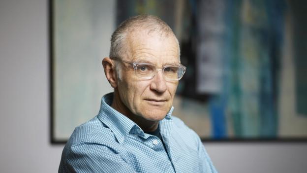 Joachim Rittmeyer tritt zehnmal mit seinem aktuellen Programm in der Kellerbühne auf.