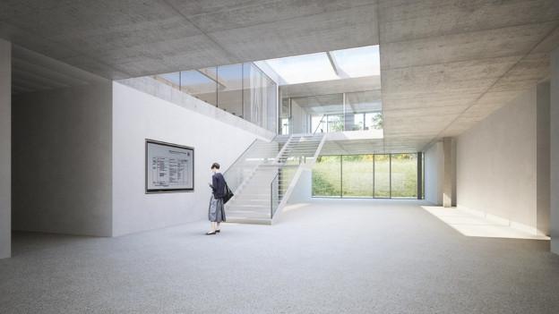 Die Pädagogische Hochschule des Kantons Thurgau platzt aus allen Nähten. Ein 27-Millionen-Neubau soll's richten.