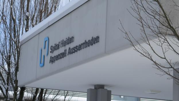 Eingang Spital Heiden