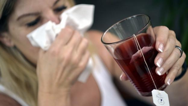 Die Grippe zwingt viele Ostschweizer ins Bett.
