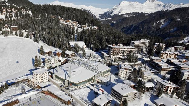 Arosa könnte neben St. Moritz einer der Austragungsorte sein.