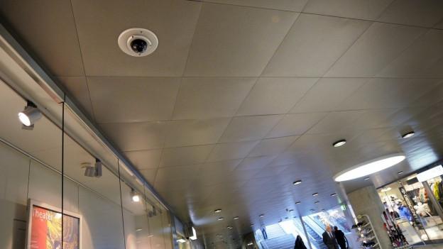 Videoüberwachung in der Brühltorpassage