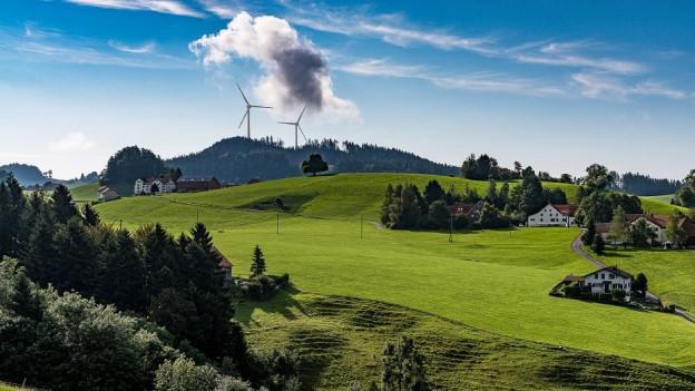 Windpark stösst in Ausserrhoden auf wenig Begeisterung