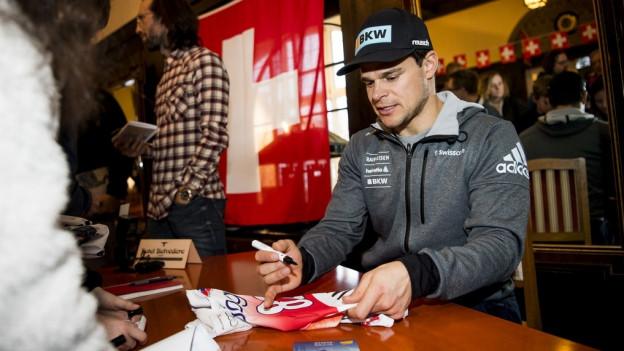 Patrick Küng geht in St. Moritz im Super-G und der Abfahrt an den Start.