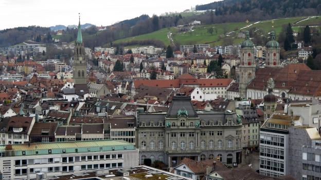 St. Gallen will einen Metropolitanraum mit den Nachbarn