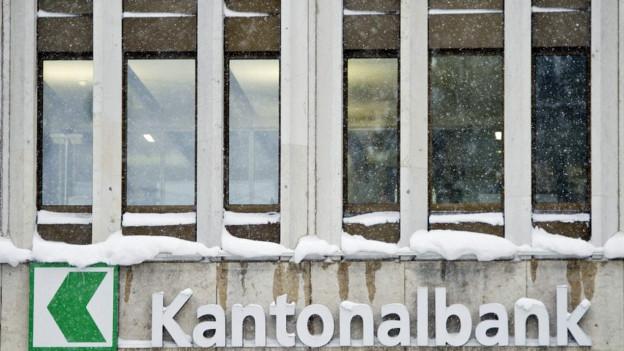 Eingang zur Kantonalbank
