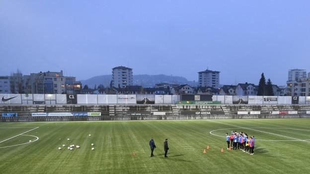 Der FC Wil beim Training